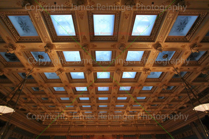 Glass ceiling of the Senate Chamber