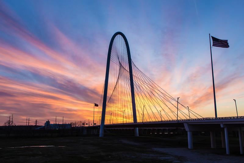 MHH Bridge Early Sunset 2