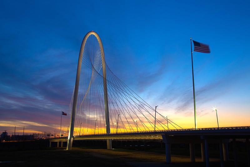 MHH Bridge late Sunset 1