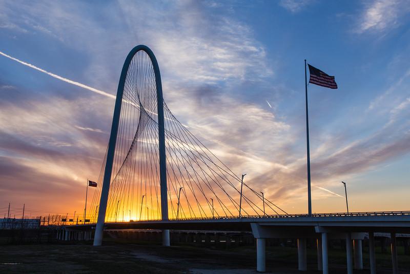 MHH Bridge Early Sunset 1