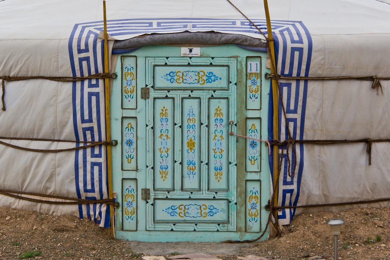 a gers...Gobi Desert, Mongolia