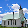 The church still stands in Fox, Oregon in John Day Country. Services are no longer held but the care and upkeep by neighboring ranchers is ongoing.