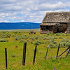 This old settler's home was found off US395 about 4 miles s/o Fox, OR.  This is high plateau country called John Day Country in eastern Oregon.  The memories is still must hold of pride and enterprise even though it finally gave way to failure.