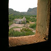 """Big Bend Ranch State Park, Texas. This is reportedly an old movie set for films such as """"Streets of Laredo"""" and others. It is just off the State Highway 170, just yards from the Rio Grande River, and to the west of Lajitas, Tx. and Big Bend National Park."""