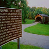 """While on a """"no schedule"""" vacation trough the deep south, I glanced at a small sign along the road for a covered bridge, which I did not even know was there. The short time spent to chase it down was well worth it, as the old bridge had much character and flair."""