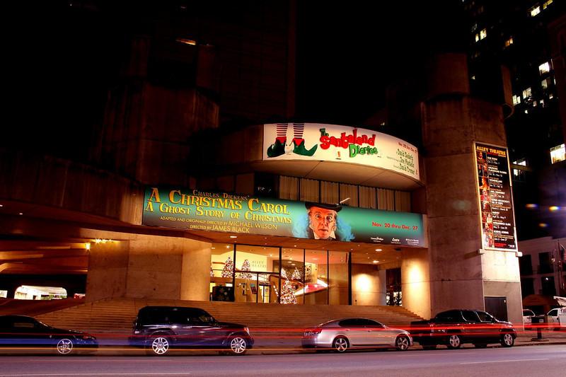 Alley Theatre, Houston, 12-16-09