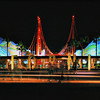 The entrance to Disney's California Adventure in Anaheim, Ca