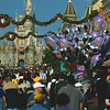 Main Street in Disney's Magic Kingdom, Florida, December 2005.