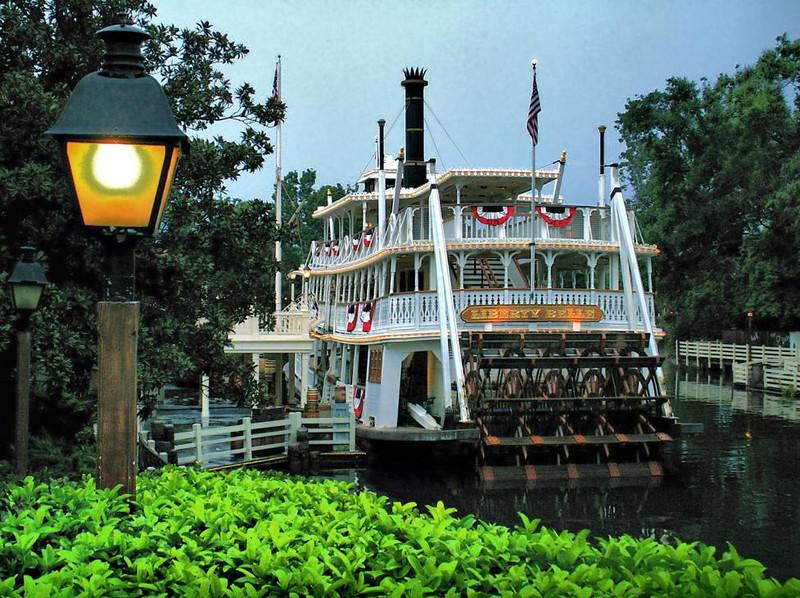Steamboat at Walt Disney World, Florida