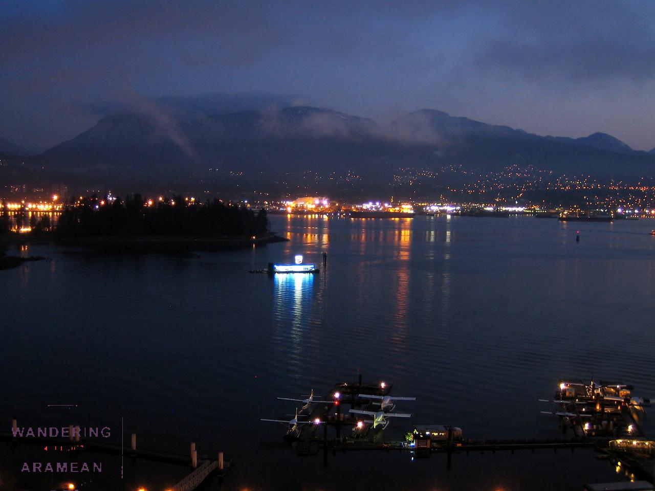 Vancouver Sea Plane Terminal at Sunrise