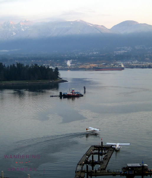 Vancouver Sea Plane Terminal at Sunrise