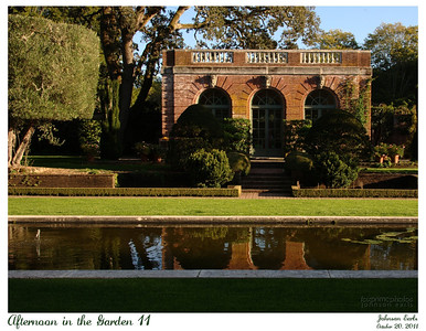 Afternoon in the Garden 11  Photos from Filoli, taken in the warm light of late afternoon.  Filoli, 20 October 2011