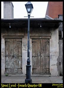 Street Level: French Quarter 08  Photos taken around the French Quarter of New Orleans.  New Orleans, 12 July 2011