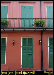 Street Level: French Quarter 05  Photos taken around the French Quarter of New Orleans.  New Orleans, 12 July 2011