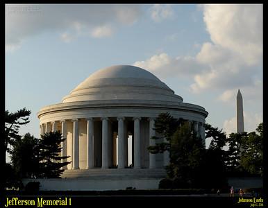 Jefferson Memorial 1  Potomac River Tidal Basin, Washington, D.C. 17 July 2011