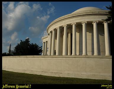 Jefferson Memorial 2  Potomac River Tidal Basin, Washington, D.C. 17 July 2011