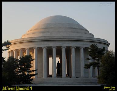 Jefferson Memorial 4  Potomac River Tidal Basin, Washington, D.C. 17 July 2011