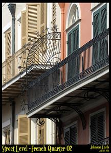 Street Level: French Quarter 02  Photos taken around the French Quarter of New Orleans.  New Orleans, 12 July 2011