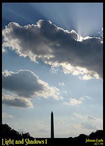Light and Shadows 1  National Mall, Washington, D.C. 17 July 2011
