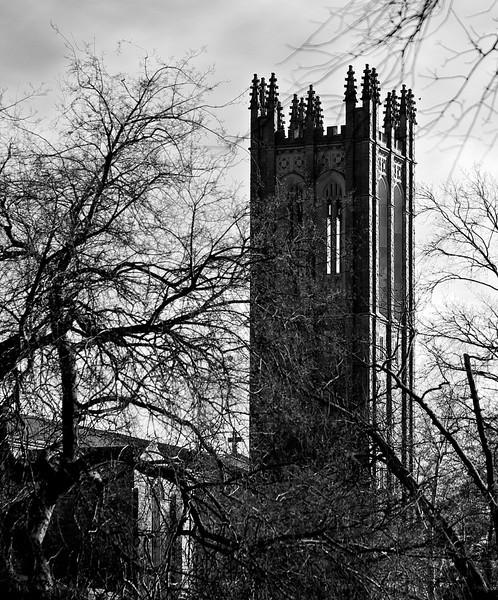 B&W Church Tower_MG_3332