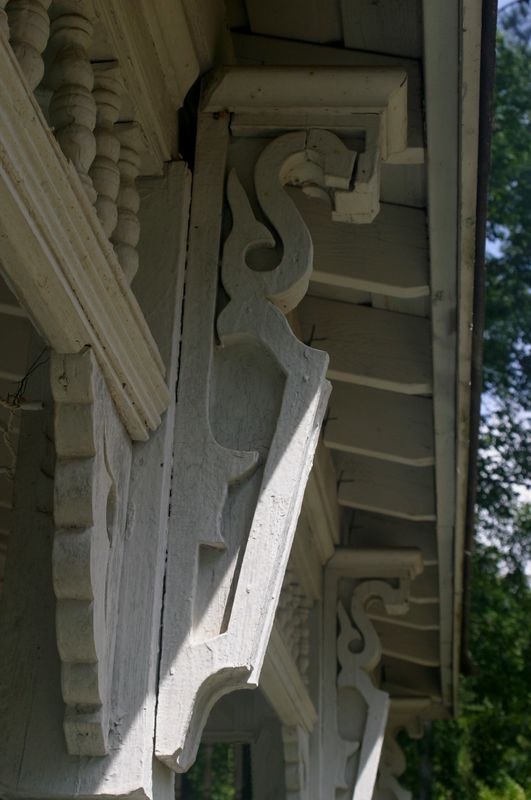 A closer look at the trim details of the Summerour House at Autrey Mill Nature Preserve.  They just don't make them like this anymore.