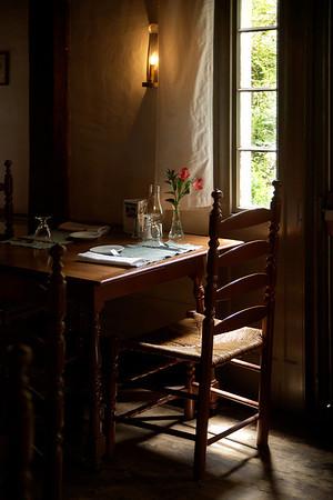 """Table for Two"" at Longfellow's Wayside Inn Sudbury, MA"