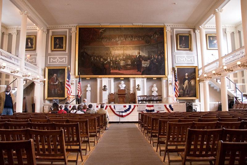Fanueil Hall, Boston, MA