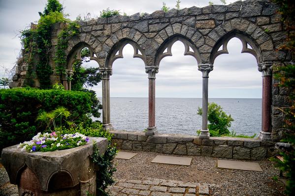 Hammond Castle overlook
