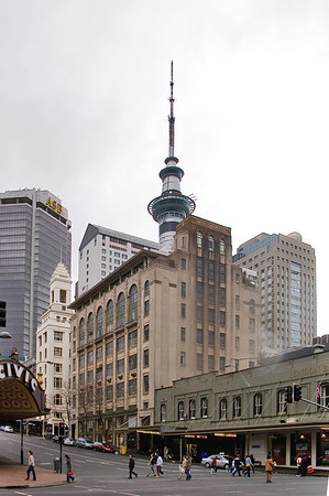 Cnr of Queen and Wellesley Streets Auckland New Zealand - 31 Jul 2005
