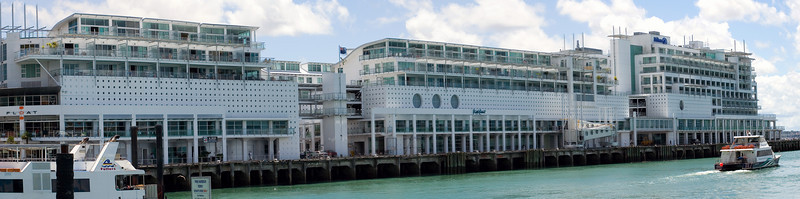 The Hilton and the overseas boat terminal Princes Wharf 147 Quay Street Auckland New Zealand - 18 Dec 2005