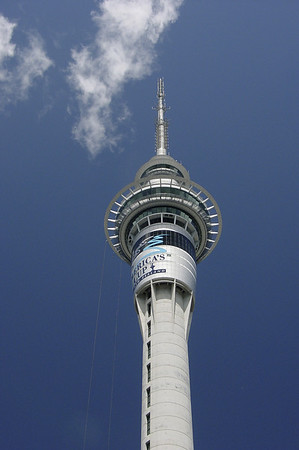 Top of Sky Tower Auckland New Zealand - Nov 2002