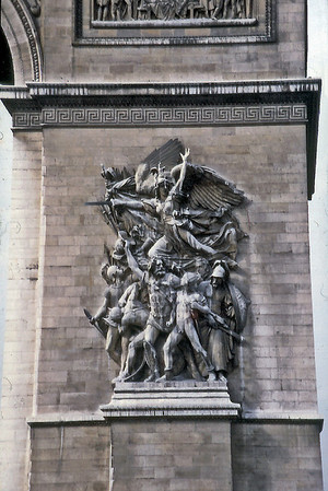 La Marseillaise Arc de Triomphe Paris France - Oct 1978