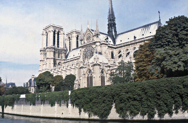 Notre Dame de Paris October 1978