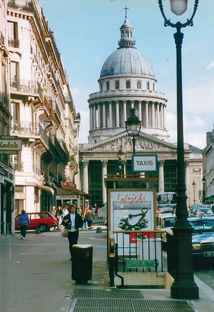 Pantheon Paris France - Oct 1987