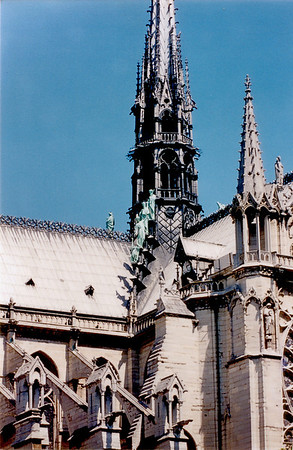 Notre Dame de Paris France - Jul 1996
