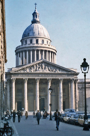 Pantheon Paris France - Oct 1978