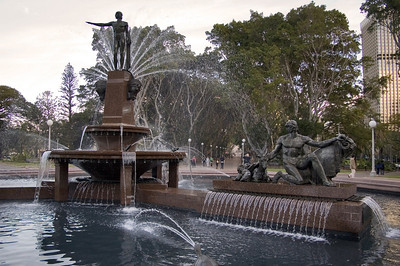 Archibald Memorial Fountain, Hyde park Sydney, NSW Australia - 20 Jun 2006