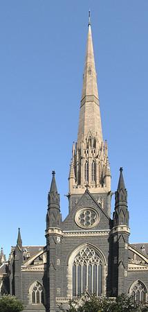St Patrick's cathedral Melbourne - VIC Australia - 21 Feb 2005