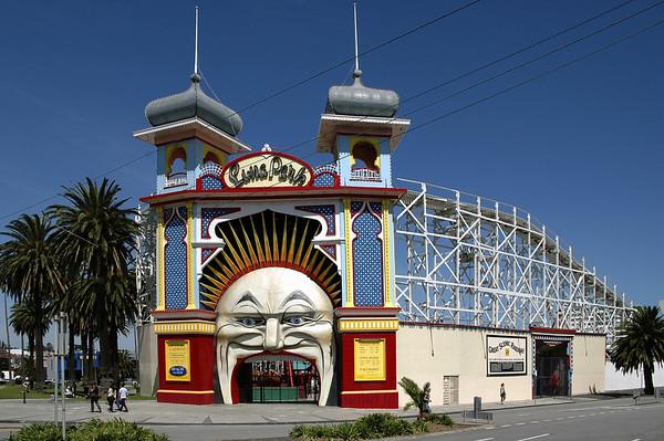 Luna Park St Kilda Melbourne - VIC Australia - 17 Feb 2005
