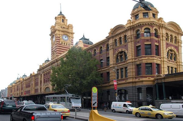 Flinders Train Station Melbourne - VIC Australia