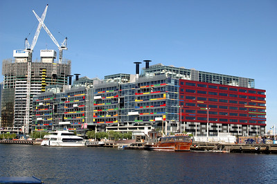 Colourful building Melbourne