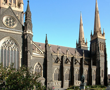 St Patrick's cathedral Melbourne - VIC Australia - 21 Feb 2005