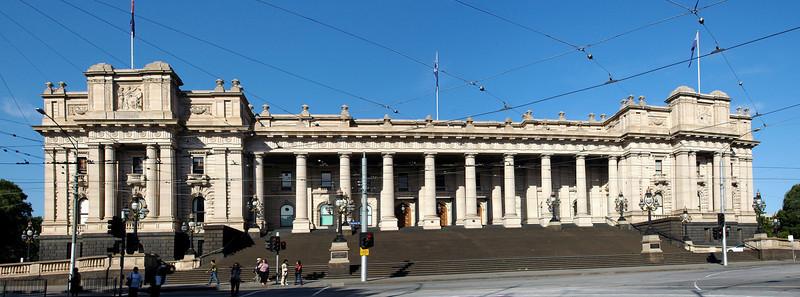 Parliament of Victoria Melbourne Australia - Feb 2005