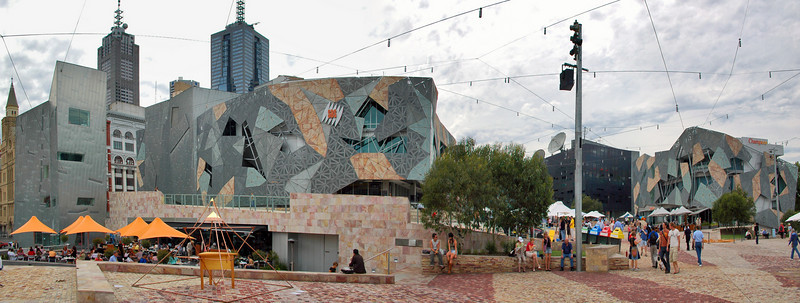 Federation Square Melbourne - VIC Australia - 26 Feb 2005