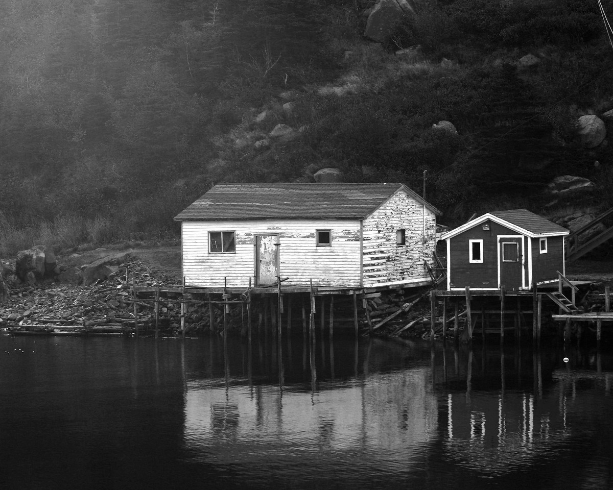 Fishing stage, Newfoundland