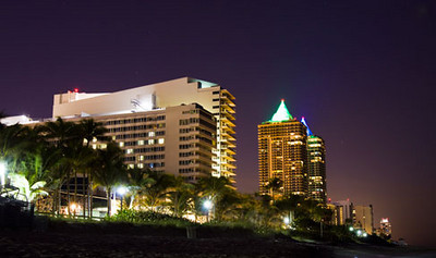 Hotels on Miami Beach, Florida