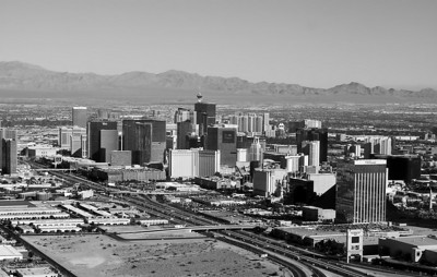 Las Vegas, Nevada With a retro B&W look to it. I like the detail and contrast in this one.
