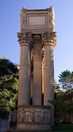 Greek-Roman architecture at the world fair grounds in San Francisco, CA _E0R1751
