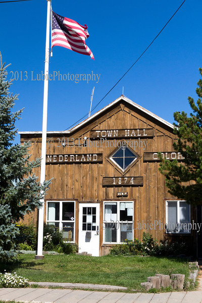 Town Hall, Nederland, Colorado