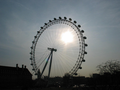 The London Eye. One of my favourite images.